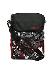 Wildcraft Unisex Black & Red Zero HipHop Laptop Bag