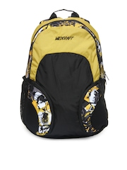 Wildcraft Unisex Black & Yellow Bounce Hiphop Backpack
