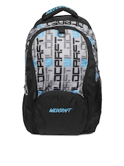 Wildcraft Unisex Black Blaze Logo Backpack