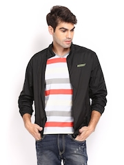 Wildcraft Unisex Black Trainer Jacket