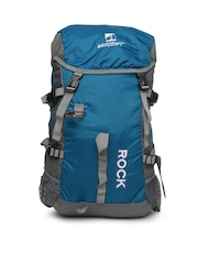 Wildcraft Unisex Blue Gear for Life Backpack