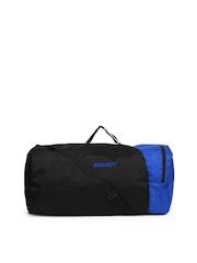 Wildcraft Unisex Black & Blue Duffle Bag