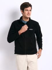 Wildcraft Unisex Black Fleece Jacket