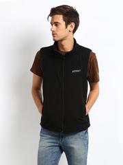 Wildcraft Unisex Black Fleece Jacket