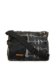 Wildcraft Unisex Black Sling Bag
