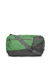 Wildcraft Unisex Green & Grey Foldable Duffle Bag