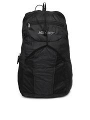Wildcraft Unisex Black Foldable Backpack