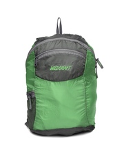 Wildcraft Unisex Green & Grey Foldable Backpack