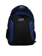 Wildcraft Unisex Wiki 10.13 Blue & Black Backpack