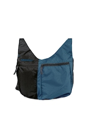 Wildcraft Women Blue & Black Grabit Sling Bag
