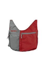 Wildcraft Women Red & Grey Grabit Sling Bag
