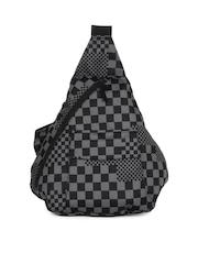 Wildcraft Women Black & Grey Que One Shoulder Bag