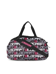 Wildcraft Women Black Shuttle Logo Duffle Bag
