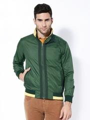 Wills Lifestyle Men Green Jacket
