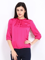Wills Lifestyle Women Pink Arleen Top