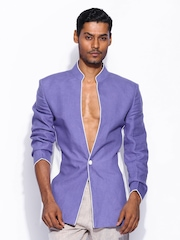 By Wendell Rodricks Men Lavender Blazer Wills Signature