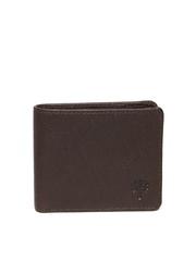 Woodland Men Brown Leather Wallet