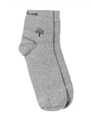 Woodland Men Grey Socks