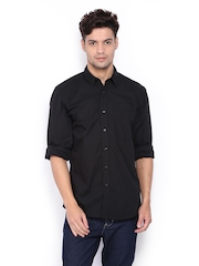 Wrangler Men Black Casual Shirt