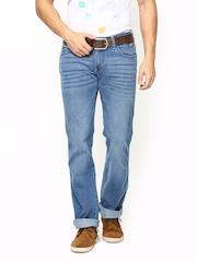 Wrangler Men Blue Floyd Regular Fit Jeans