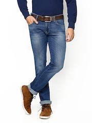 Wrangler Men Blue Skanders Slim Fit Jeans