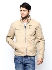 Wrangler Men Beige Jacket
