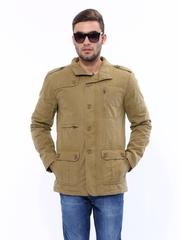 Wrangler Men Khaki Jacket
