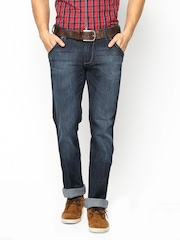 Wrangler Men Navy Floyd Fit Jeans