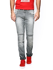 Wrangler Men Grey Rockville Fit Jeans