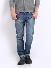 Wrangler Men Blue Rockville Regular Fit Jeans