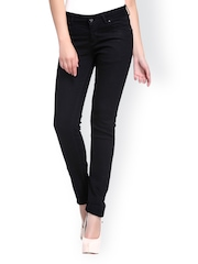 Xblues Women Black Slim Fit Jeans
