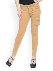 Xblues Women Beige Slim Fit Jeans