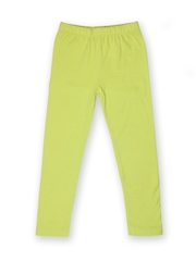 Yellow Kite Girls Lime Green Leggings