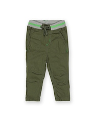 Yellow Kite Baby Boys Olive Green Trousers
