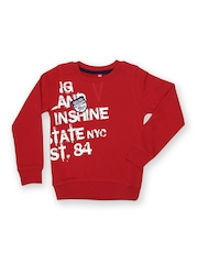 Yellow Kite Boys Red Sweatshirt