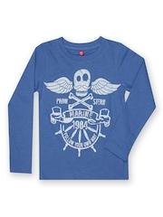 Yellow Kite Boys Blue T-shirt