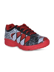 Men Red & Black Sports Shoes Yepme
