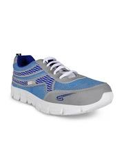 Yepme Men Grey & Blue Sports Shoes