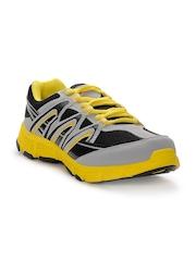 Yepme Men Yellow & Grey Sports Shoes