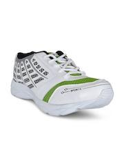 Yepme Men Silver-Toned & Green Drales Walking Shoes