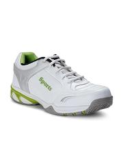 Yepme Men White & Grey Sports Shoes