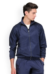 Yepme Men Navy Blue Tracksuit