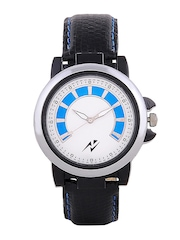 Yepme Men Black & Blue Dial Watch YPMWATCH0814
