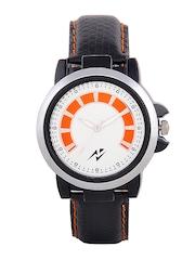 Yepme Men Black & Orange Dial Watch YPMWATCH0815