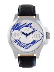 Yepme Men Black & Blue Dial Watch YPMWATCH0724