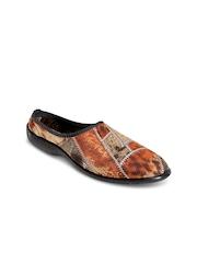 Yepme Women Brown Printed Casual Shoes