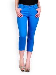 Yepme Women Blue Capris