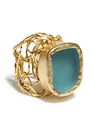 Zariin The Stunner Gold Plated Ring