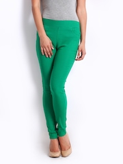 Zink Women Green Treggings