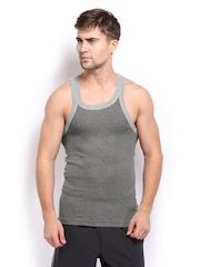 Zoiro Men Grey Innerwear Vest Lorenzo 152.5